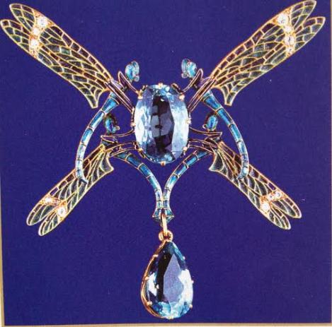""""""" Quatre Libellules"""" 1903-1904 René Lalique"""