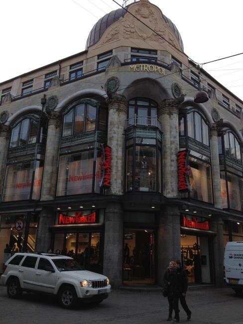 "Old Art Nouveau Cinema in Copenhagen ""Metropol"""