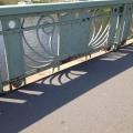 An art Nouveau style bridge inPrague