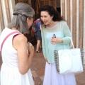 Meeting with Angela Hewitt inAssisi