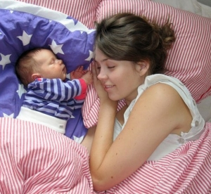 Marie & baby Esther