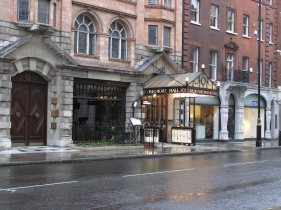 Wigmore Hall from outside