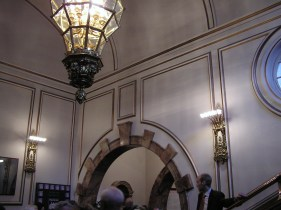 interior in Wigmore Hall in London