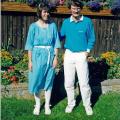 Torben og jeg i1987