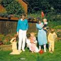 Torben og Lis og jeg og børn i1987