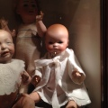 "Kaiser baby doll from about 1912 and a ""Dream Baby"""