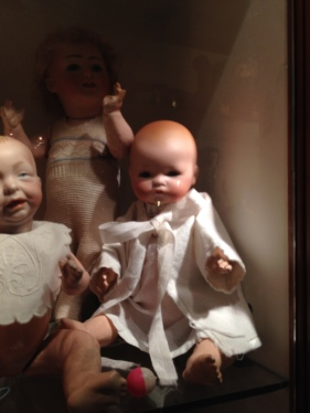 "Kaiser baby doll from about 1912 and a ""Dream Baby"" A. Marseille"