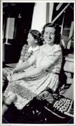 """Kronprins Frederik""My mother and her friend Else"