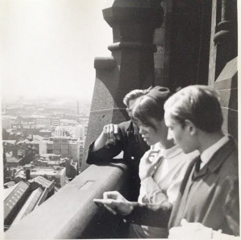 We are looking at the view from Manchester Town Hall 1966