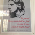 A poster from Keats and Shelleys' House inRome