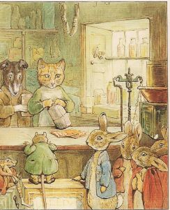 Beatrix Potter og Ginger and Pickles