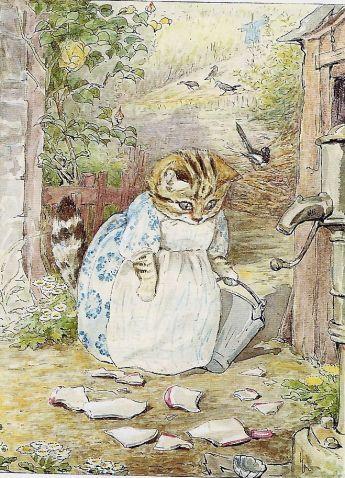 Beatrix Potter og katten