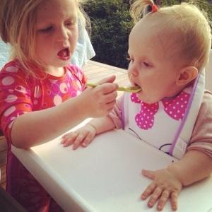 Even children mirror each other