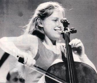 Jacqueline du Pré as a child