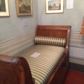 Keats' last bed in the house inRome