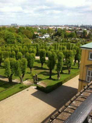 A look from the Frederiksberg Palace in Copenhagen