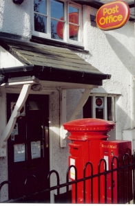 A House in Worsley with a mail box