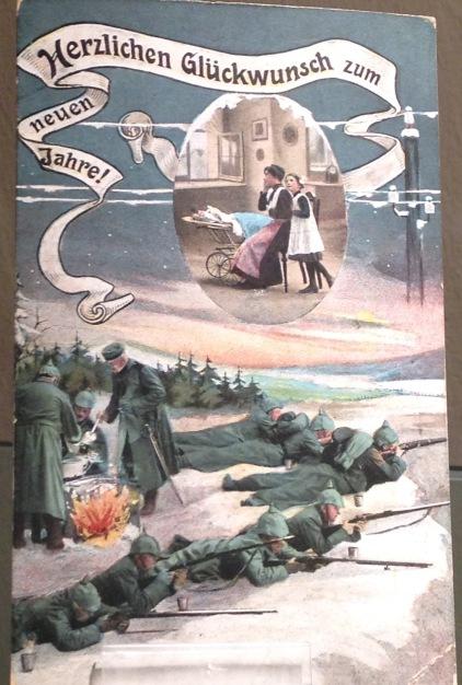 German postcard from WWI