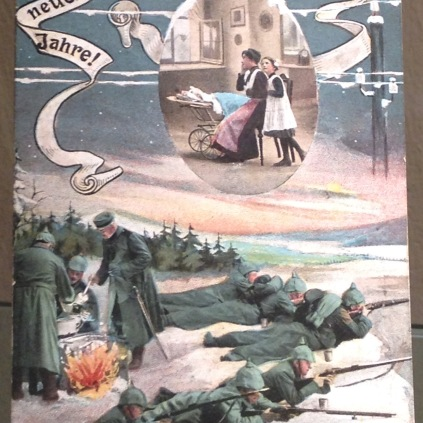 German postcard from WWI