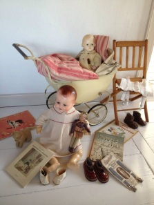 Doll interior from the fifties
