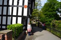 A Tudor house in Worsley