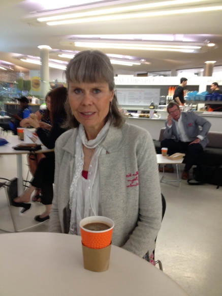 at the café at the Central Library where I used to visit in 1970