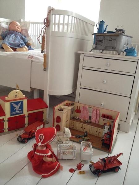 Dorthe Lohmann's toys from 1950s