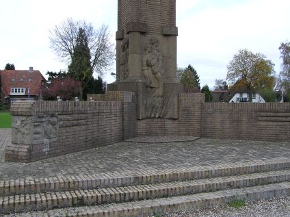 War Memorial in Arnhem Oosterbeek