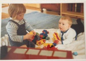 Cecilie og Ditlev 1987