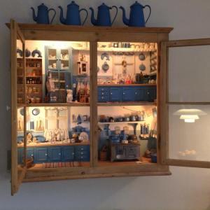 Dorthes blå køkken i ophæng