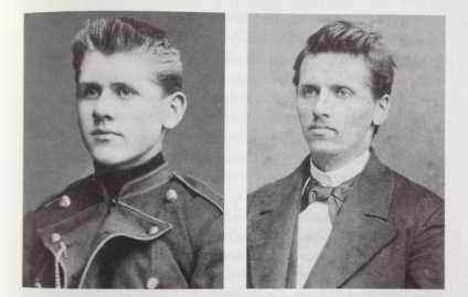Two of Jacob's brothers who both died shortly after the photos were taken