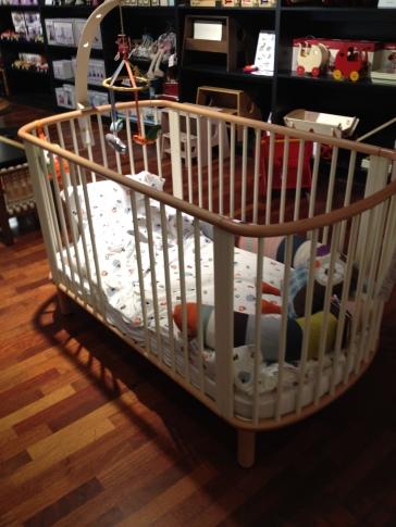 A cot or a crib