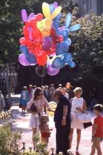 Balloons in Tivoli 1960s