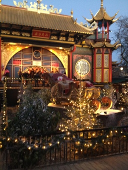 The Panthomime Theatre at winter time in Tivoli MH