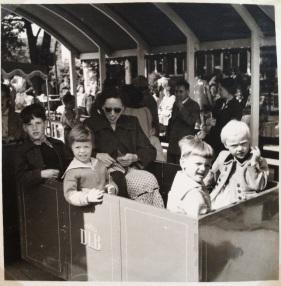 The Tivoli Train in 1955. It's still there