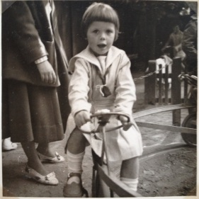 Me at the playground 1955 in Tivoli