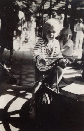My eldest son 1983 in Tivoli play ground