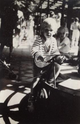 My eldest son 1983 in Tivoli play ground