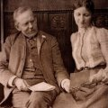 Jacob and Elisabeth Riis at their silver wedding