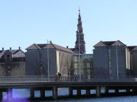"""a view to """"Vor Frelsers kirke"""" Christianshavn"""