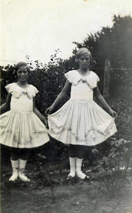 Ruth and Eva 1930s