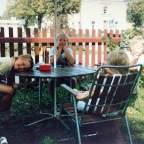 Visit in old Sigtuna 1990
