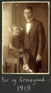 Ermegaard and Emry after his first wife died 1919