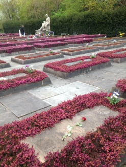 The graves for the resistance fighters