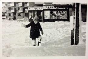 Niels in the snow 1943 ©Gunner Johansen