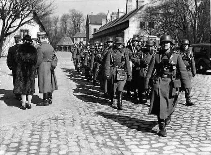 The Germans were not welcomed at Kastellet 9th of April 1940