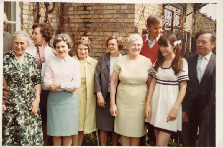 My grandmother's birthday 1968 or 1969 where she lived. I am at the far right