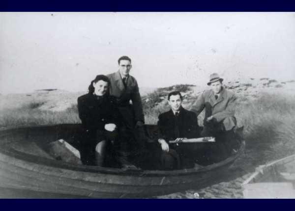 robåd med jøder