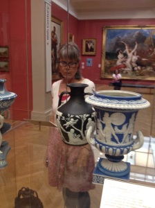 Joshia Wedgewood's famous Portland vase at the Manchester Art Gallery