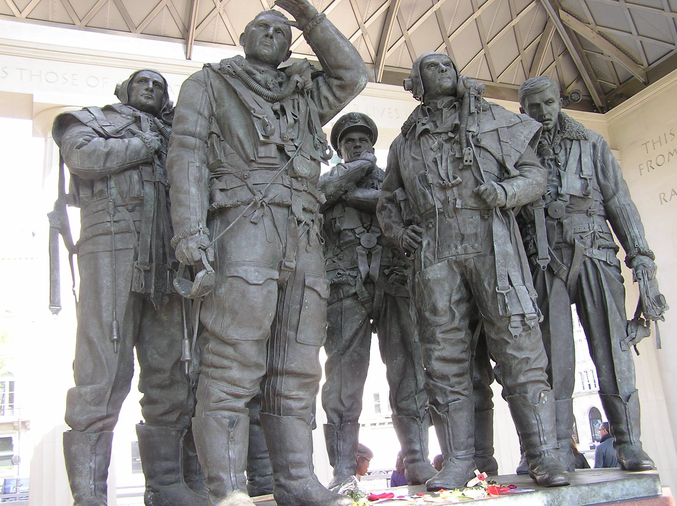 Bomber Commander Memorial at Green Park